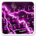 Purple Thunder Light Keyboard